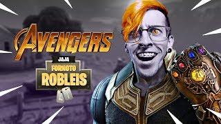 Ganando Con Thanos Fortnite Battle Royale