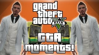 GTA 5 Online Funny Moments! - New Gate Glitch, Banana Bus Fun, Helicopter Fails and More!