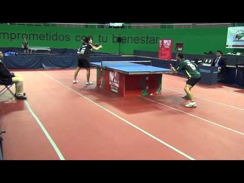 Humberto Manhani(Brasil) vs Gustavo Gómez(Chile) Final Open Mérida 2015