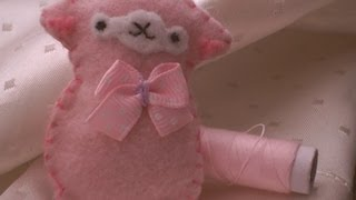 How To Make A Cute Alpaca Plushie..