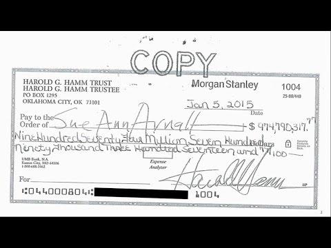 Billion Dollar Divorce Check: Wife Refuses $974 Million Check