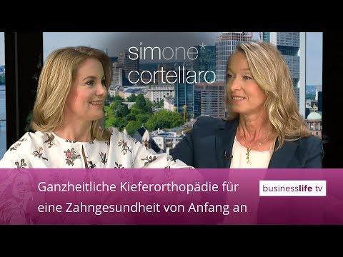 Simone Cortellaro im Gespräch mit Frau Dr. Zieber
