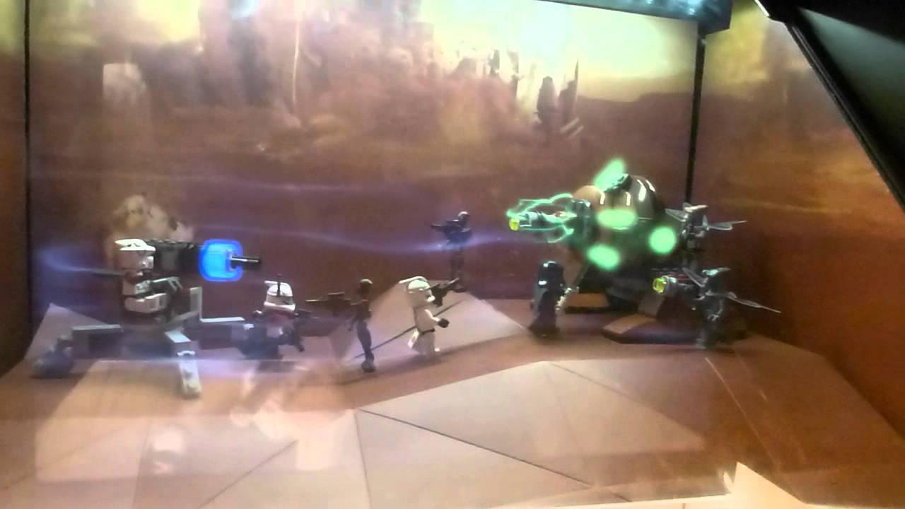 Lego Star Wars con Hologramas