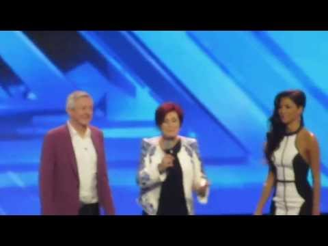 Gary Barlow, Nicole Scherzinger, etc at X Factor Auditions UK 2013 (18 JUL 2013)