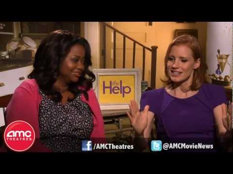 THE HELP stars Octavia Spencer and Jessica Chastain Talk With AMC