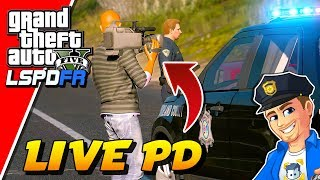 GTA 5 LSPDFR Live PD Crew Filming Richland County Sheriff | GTA 5 LSPDFR Realistic Police Mod
