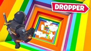 *IMPOSSIBLE* RAINBOW DROPPER CHALLENGE in Fortnite