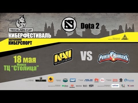 Natus Vincere - Power Rangers @ TECHLABS Minks 2013, Game 3 (rus)