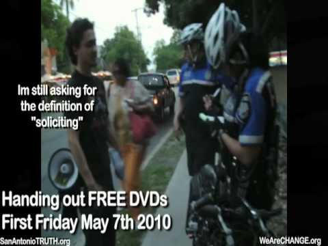 Police Physically Assault We Are Change San Antonio Video