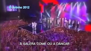 NEYMAR SINGS NOSA LIVE HD