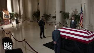 WATCH LIVE: Justice Stevens lies in repose at the Supreme Court