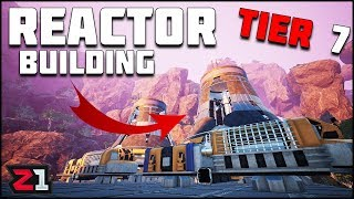 Unlocking NEW Tier 7 ! Building the Nuclear Reactor ! Satisfactory Update | Z1 Gaming