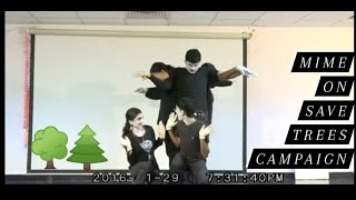 MIME performance - save trees & protect environment.