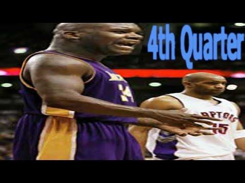 Basketball Live 98 LA Lakers VS Toronto Raptors 4th Quarter