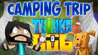 THE CAMPING TRIP!! | Think's Lab Minecraft Mods [Minecraft Roleplay]