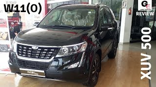 Mahindra XUV 500 W11(0) | Black |  detailed review | features | specs | price !!!!