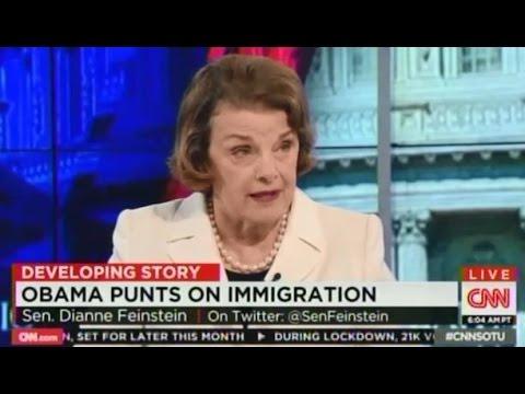 Senator Feinstein on immigration reform
