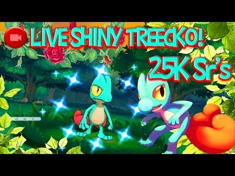 Pokémon ORAS LIVE SHINY TREECKO AFTER Over 25K SRS... [BQ#1]