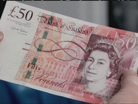 NEW FIFTY: Bank of England unveils latest £50 note
