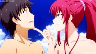 Top 10 Romance Anime Where Main Character Gets Girls Attention [HD]