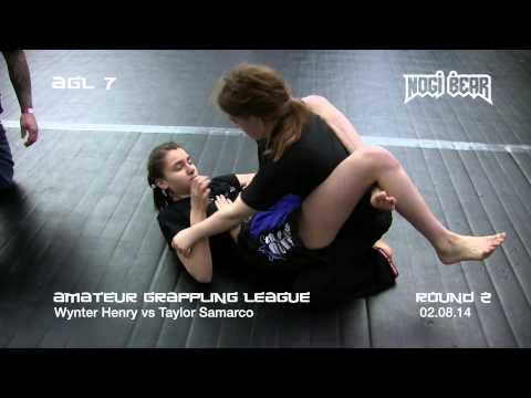 Agl 7 • Taylor Samarco Vs Wynter Henry • Amateur Grappling League® Teen Girls No-gi Division video