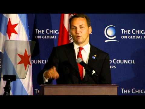 Radoslaw Sikorski at The Chicago Council on Global Affairs