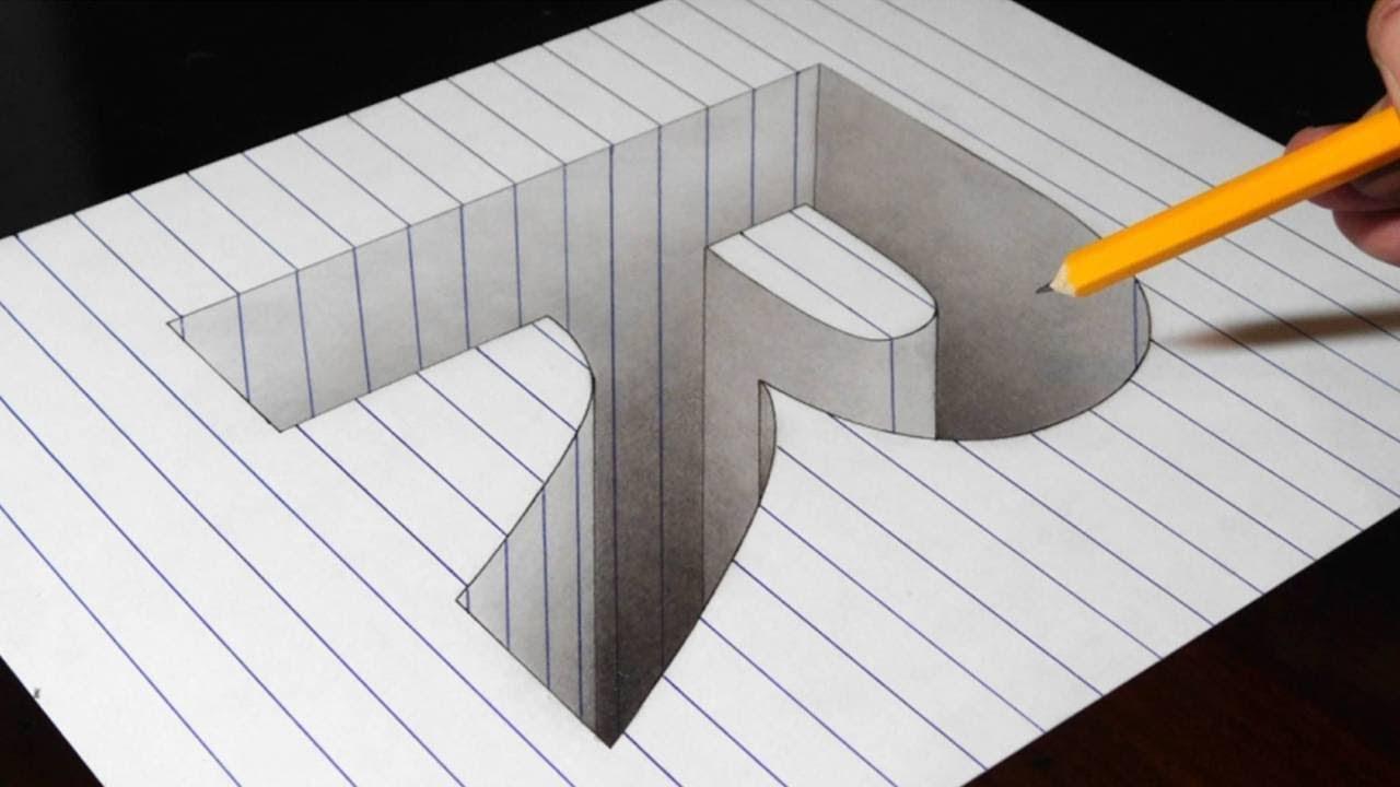 3д оптические иллюзии своими руками 60