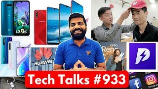 Tech Talks #933 - Galaxy A70s 64MP, Popshot Web Apps, Realme w/SD855, LG Q60, Mate 30 Pro, Oppo 5G