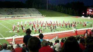 SVSU Marching Band Current Pop Hits Halftime Show