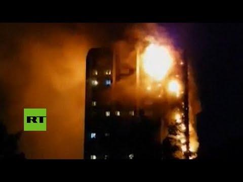 Gritos desesperados: Personas atrapadas en el incendio piden ayuda