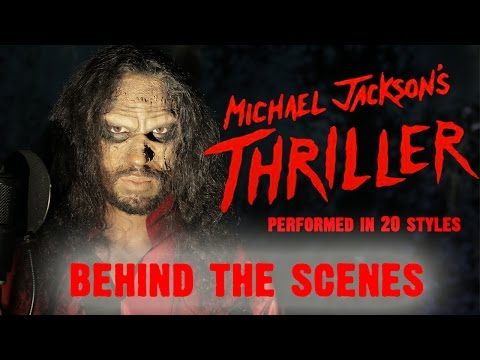 Michael Jackson - Thriller | Ten Second Songs | Behind The Scenes...