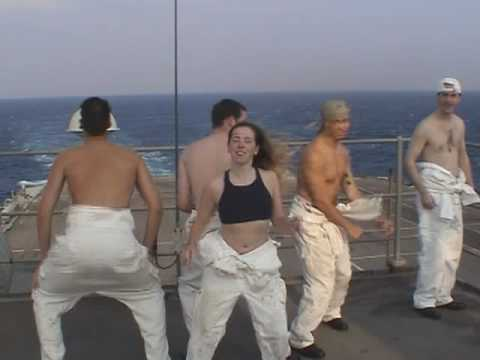 Royal Navy HMS Ark Royal S Club 7 tribute for Channel Night