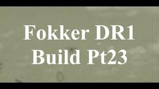 DW Hobby Fokker DR1 build Pt23 RC Model Geeks