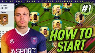 FIFA 18 ROAD TO DIVISION 1 - FIRST STEPS - HOW TO BUILD THE BEST TEAM + GREAT GAMES in ULTIMATE TEAM