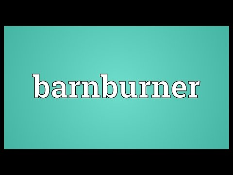 Header of Barnburner