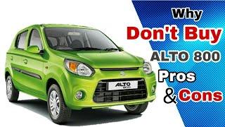 5 Reasons Why NOT TO Choose Maruti Suzuki ALTO 800, Vs Renault KWID, Pros & Cons Honest Opinion