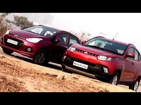 Mahindra KUV100 versus Hyundai Grand i10