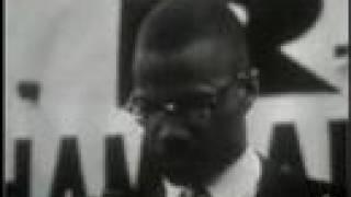 Malcolm X Rare Canadian CBC TV Show 1965 Part 1