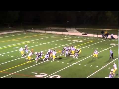 Joseph Pavlik #19 -- Mount Carmel High School (Chicago) 2012 SR Punter