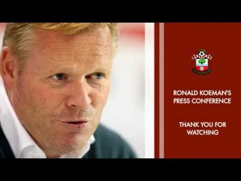 PRESS CONFERENCE: Ronald Koeman pre-Hull City