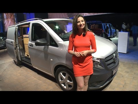Mercedes-Benz TV: Torie checks out the new Vito in Berlin.