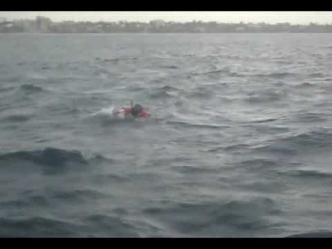 US Coast Guard and USCG Auxiliary - Helo Ops Training - USCG Swimmers Video