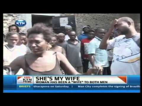 KTN Prime: Two men clash over a woman in Mombasa