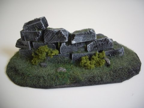 Wargames Terrain: Ruins (Part 1) Tutorial / Guide