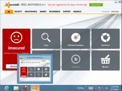 How to Uninstall avast! Free Antivirus 8