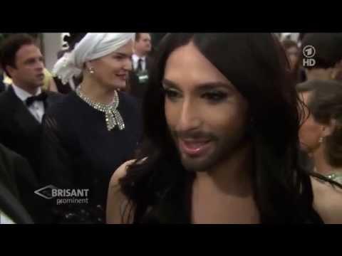 Conchita Wurst at the Golden Globe 2015 LA