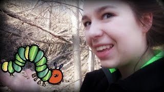 WE SAVED A CATERPILLAR! (Geocaching outtakes)