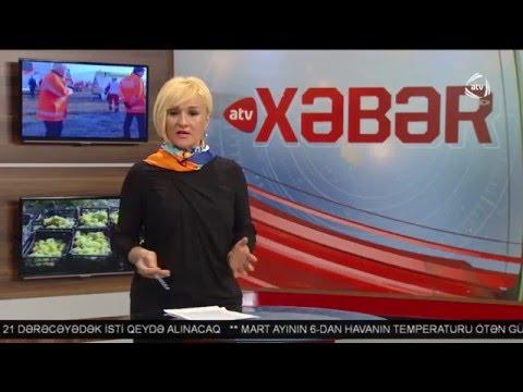 ATV Xəbər (16:00 04.03.2016)