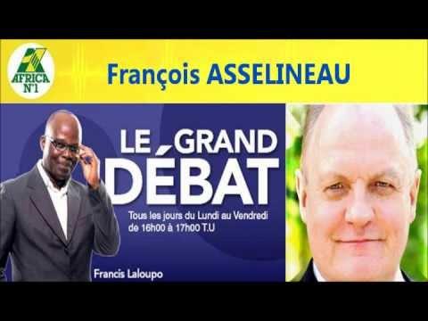 François ASSELINEAU sur Radio AFRICA N°1 dans « Le Grand Débat » 13-09-2012