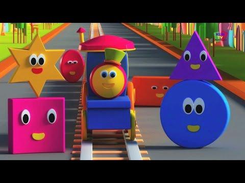 BOB O TREM - AVENTURA COM AS FORMAS | Bob,Shape Song